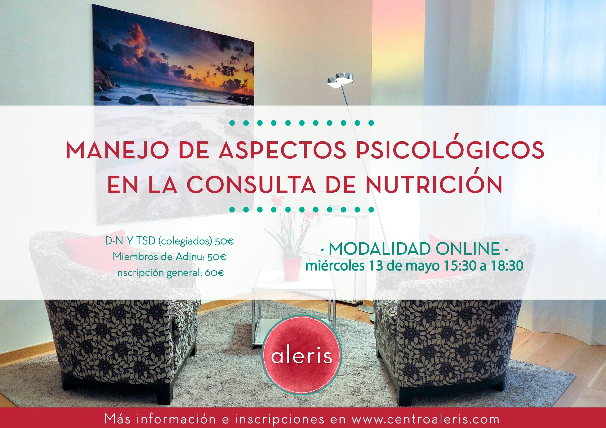 Manejo de aspectos psicológicos en la consulta de nutrición