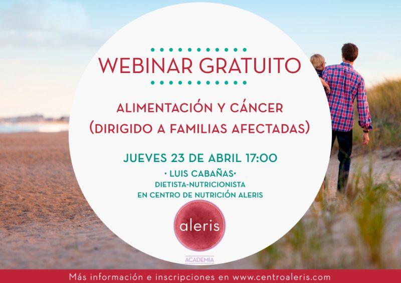Alimentación y cáncer para familias