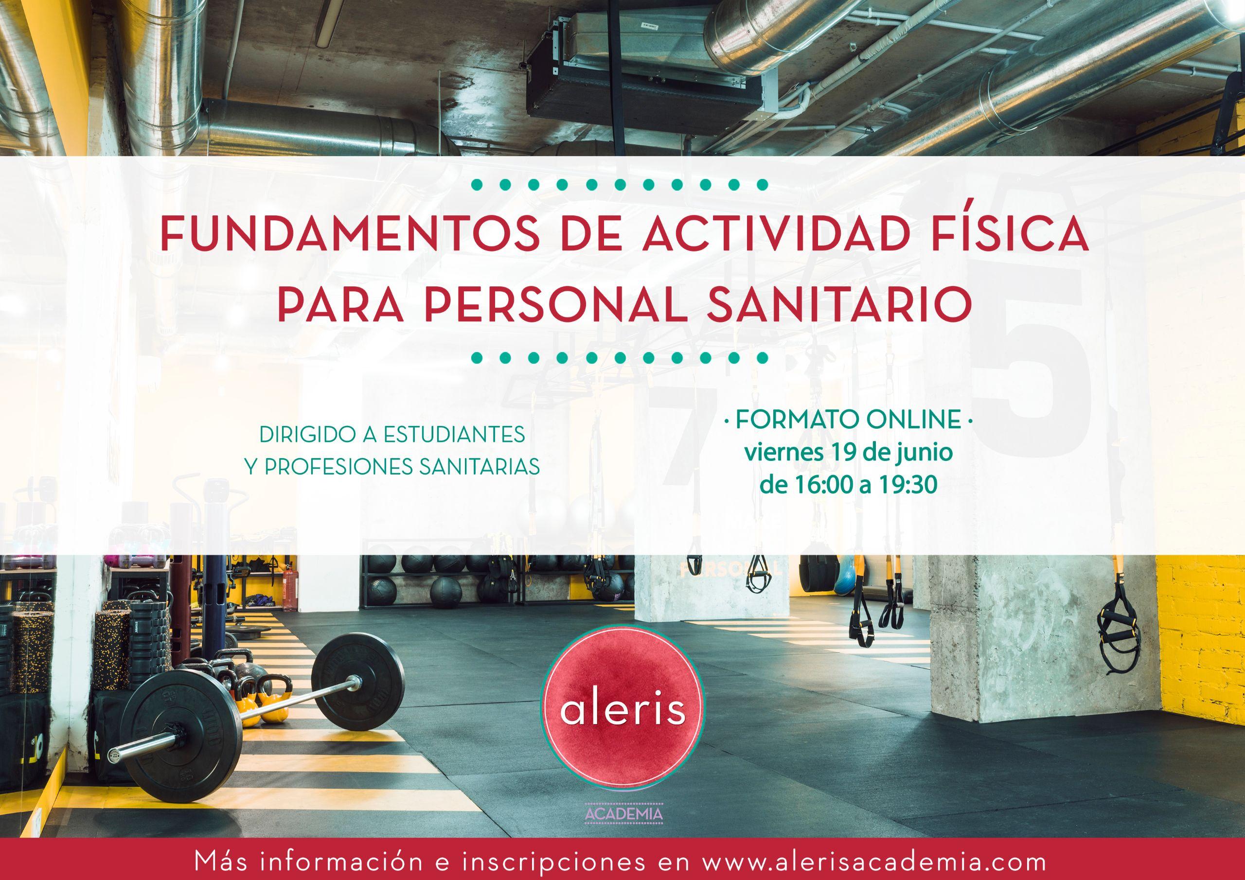 Fundamentos de actividad física para personal sanitario