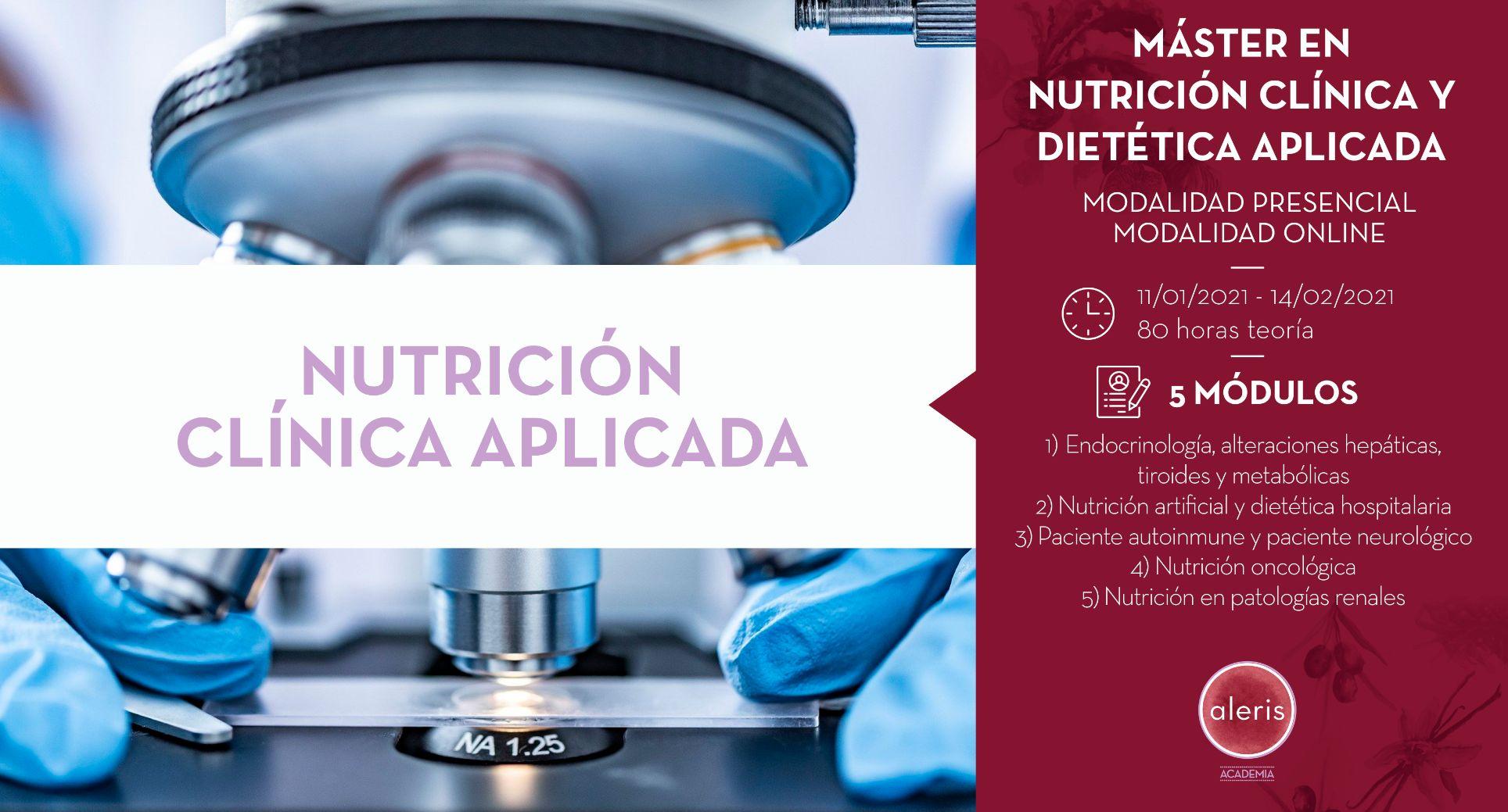 NUTRICIÓN CLÍNICA APLICADA