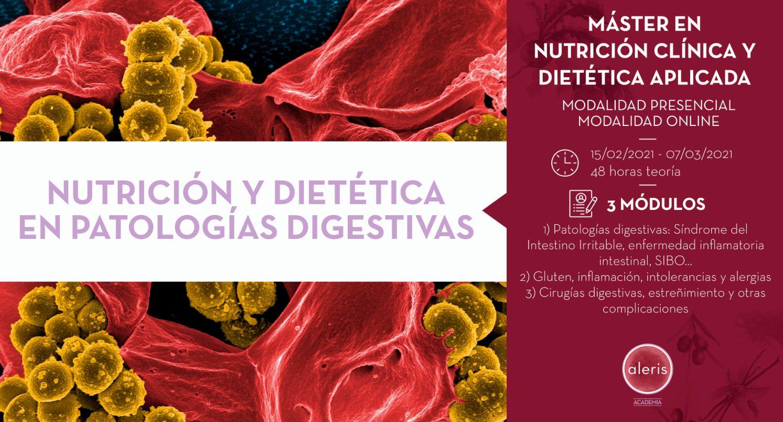 NUTRICIÓN Y DIETÉTICA EN PATOLOGÍAS DIGESTIVAS