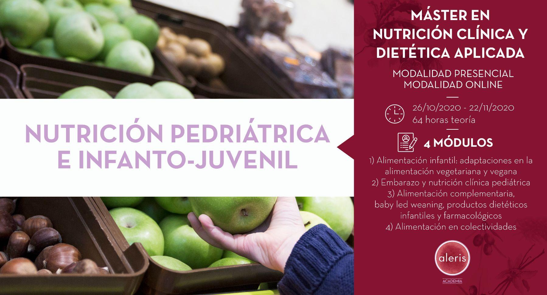 NUTRICIÓN PEDIÁTRICA E INFANTO JUVENIL