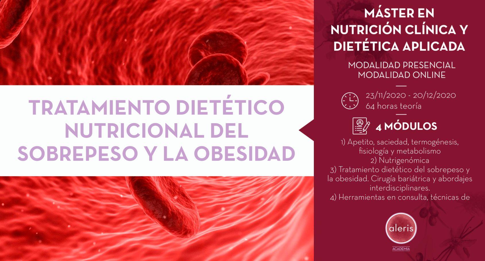 TRATAMIENTO DIETÉTICO-NUTRICIONAL DEL SOBREPESO Y LA OBESIDAD