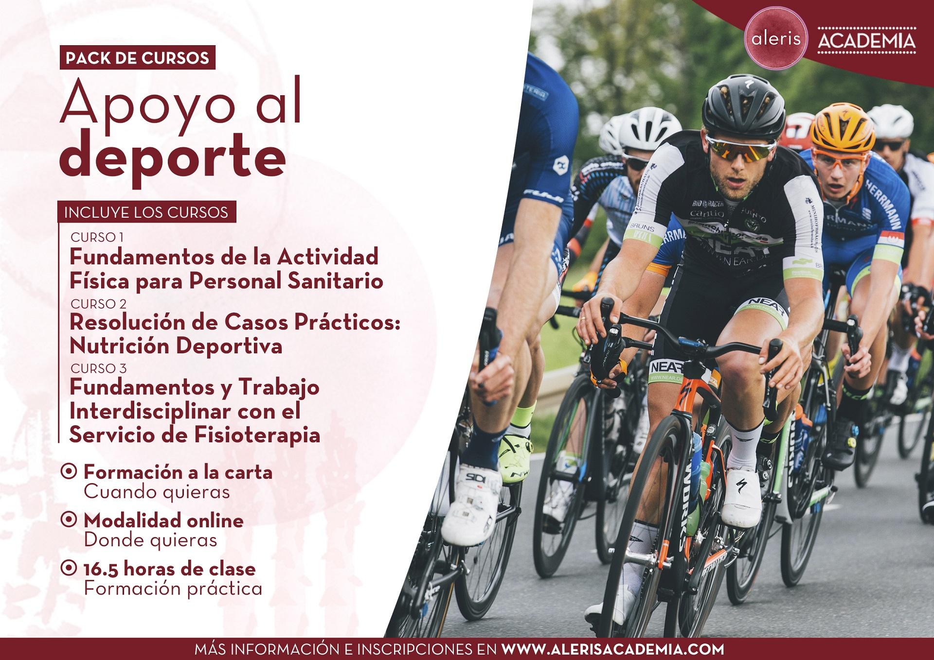 Pack de formación Apoyo al deporte