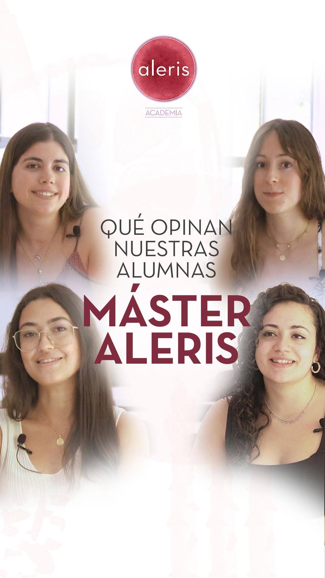 Opiniones alumnas Máster Aleris