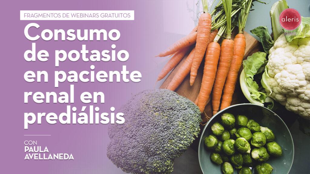 Consumo de potasio en paciente renal en prediálisis